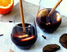 Evde Sıcak Şarap