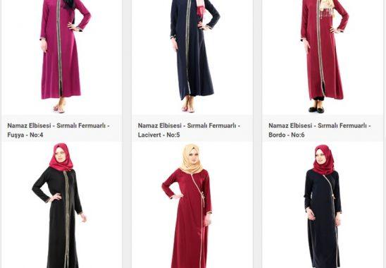 Namaz İçin Özel Tasarlanmış Elbiseler