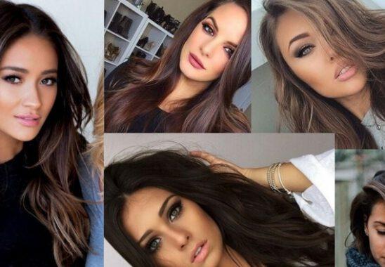 Esmerler Kadınlara En Çok Yakışan Saç Renkleri